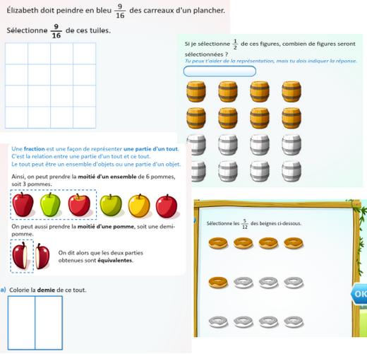 fraction activite netmaths mathematiques quebec image 2