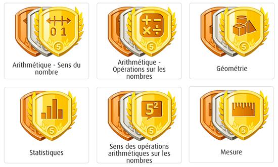 Les badges de contenu pour les niveaux primaire 5 et 6 sont maintenant en ligne.