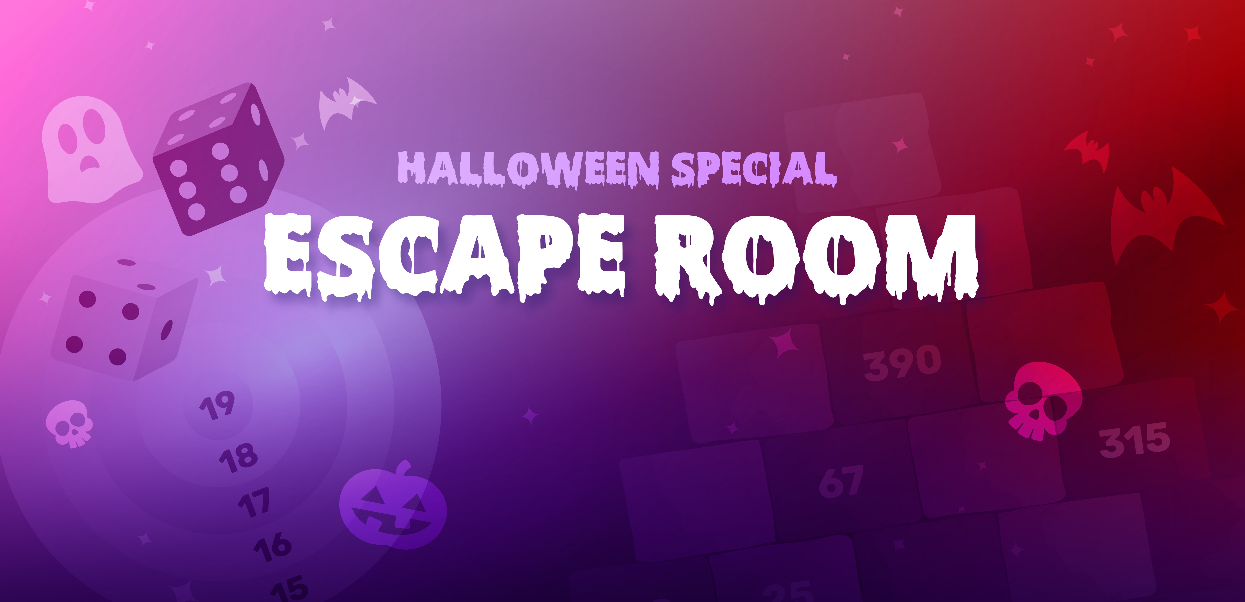 Halloween activities: Escape Room!